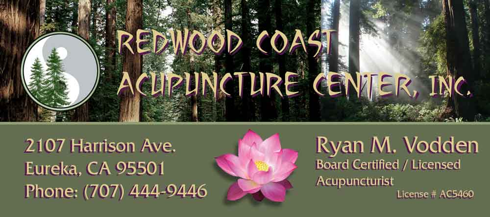 Redwood Coast Acupuncture Center - Ryan Vodden L.Ac.